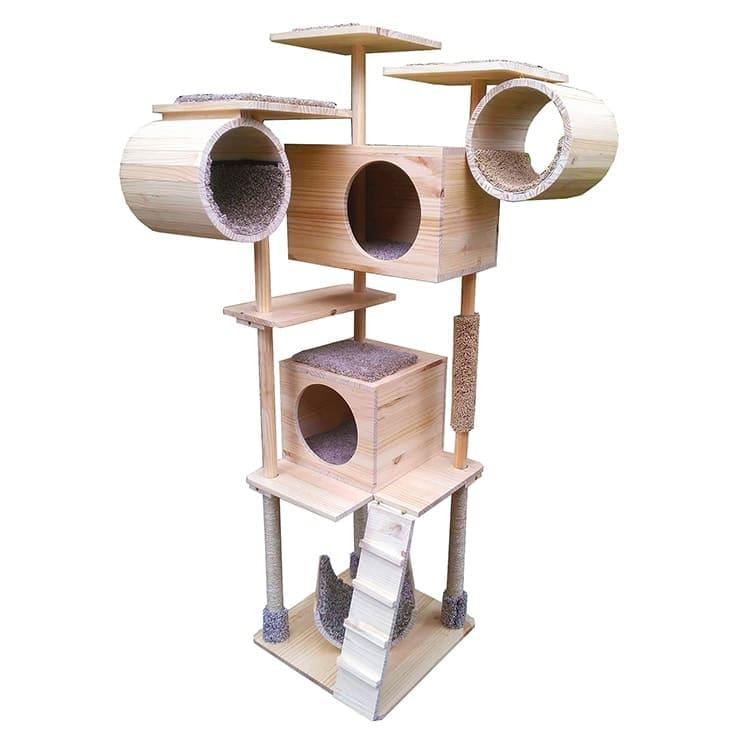 Cats tree wood